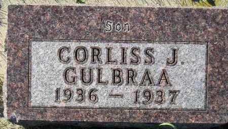 GULBRAA, CORLISS J. - Codington County, South Dakota | CORLISS J. GULBRAA - South Dakota Gravestone Photos