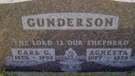 GUNDERSON, AGNETTA - Codington County, South Dakota | AGNETTA GUNDERSON - South Dakota Gravestone Photos
