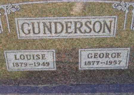 GUNDERSON, GEORGE - Codington County, South Dakota | GEORGE GUNDERSON - South Dakota Gravestone Photos