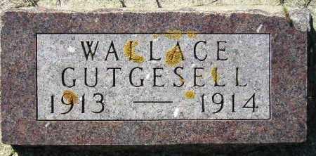 GUTGESELL, WALLACE - Codington County, South Dakota | WALLACE GUTGESELL - South Dakota Gravestone Photos