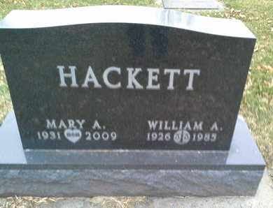 HACKETT, WILLIAM  A - Codington County, South Dakota | WILLIAM  A HACKETT - South Dakota Gravestone Photos