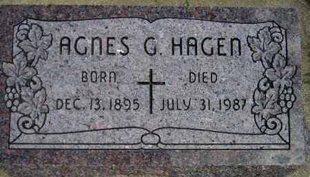 HAGEN, AGNES GURINA - Codington County, South Dakota | AGNES GURINA HAGEN - South Dakota Gravestone Photos