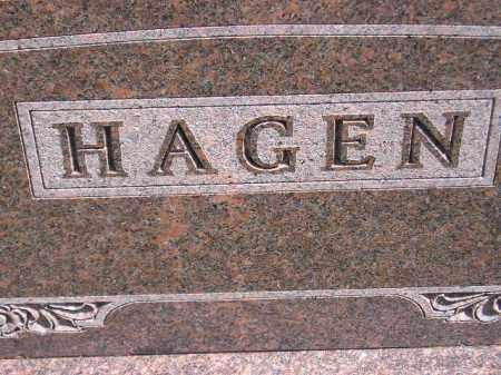 HAGEN, FAMILY STONE - Codington County, South Dakota   FAMILY STONE HAGEN - South Dakota Gravestone Photos