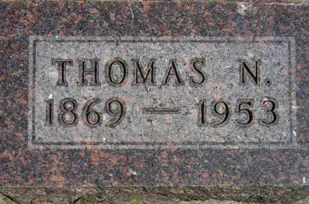 HAGEN, THOMAS N. - Codington County, South Dakota | THOMAS N. HAGEN - South Dakota Gravestone Photos