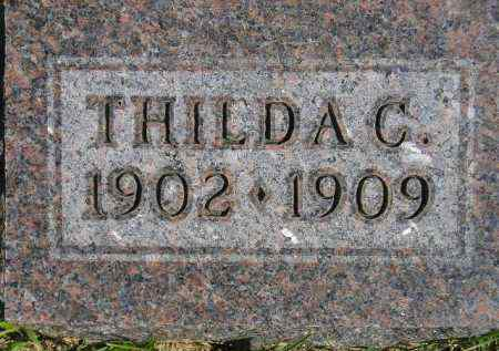 HAGEN, THILDA C. - Codington County, South Dakota | THILDA C. HAGEN - South Dakota Gravestone Photos