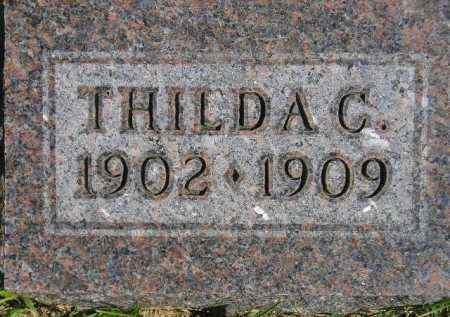 HAGEN, THILDA C. - Codington County, South Dakota   THILDA C. HAGEN - South Dakota Gravestone Photos