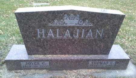 HALAJIAN, JOYCE C - Codington County, South Dakota | JOYCE C HALAJIAN - South Dakota Gravestone Photos