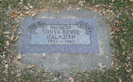 HALAJIAN, SONYA RENEE - Codington County, South Dakota | SONYA RENEE HALAJIAN - South Dakota Gravestone Photos