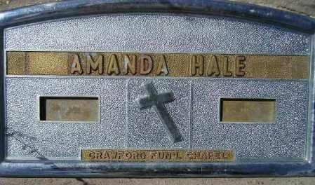 HALE, AMANDA - Codington County, South Dakota | AMANDA HALE - South Dakota Gravestone Photos