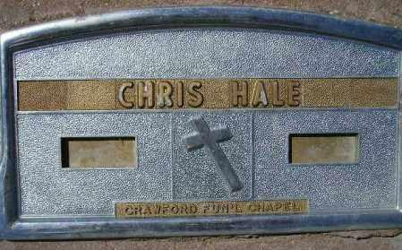 HALE, CHRIS - Codington County, South Dakota | CHRIS HALE - South Dakota Gravestone Photos