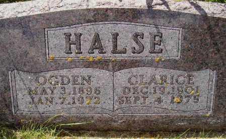 HALSE, CLARICE MELVINA - Codington County, South Dakota | CLARICE MELVINA HALSE - South Dakota Gravestone Photos