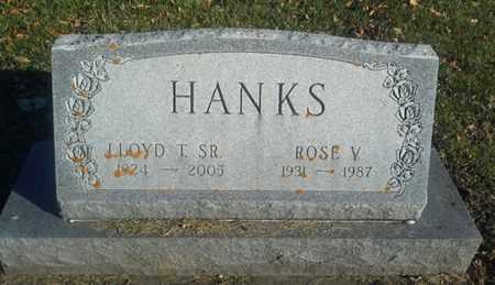 HANKS, LLOYD T SR - Codington County, South Dakota | LLOYD T SR HANKS - South Dakota Gravestone Photos