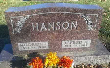 HANSON, ALFRED A - Codington County, South Dakota | ALFRED A HANSON - South Dakota Gravestone Photos