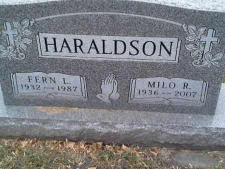HARALDSON, FERN L - Codington County, South Dakota | FERN L HARALDSON - South Dakota Gravestone Photos