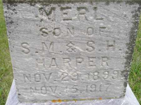 HARPER, MERL - Codington County, South Dakota | MERL HARPER - South Dakota Gravestone Photos
