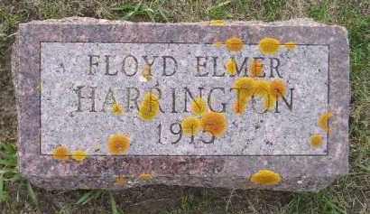 HARRINGTON, FLOYD ELMER - Codington County, South Dakota | FLOYD ELMER HARRINGTON - South Dakota Gravestone Photos
