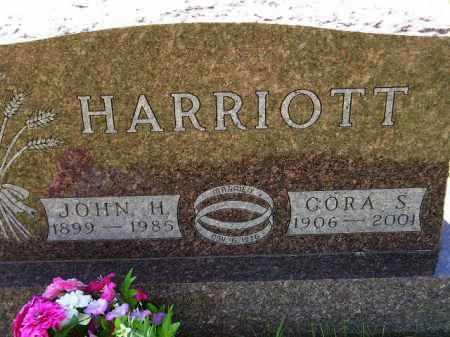HARRIOTT, CORA S. - Codington County, South Dakota | CORA S. HARRIOTT - South Dakota Gravestone Photos