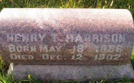 HARRISON, HENRY T. - Codington County, South Dakota | HENRY T. HARRISON - South Dakota Gravestone Photos