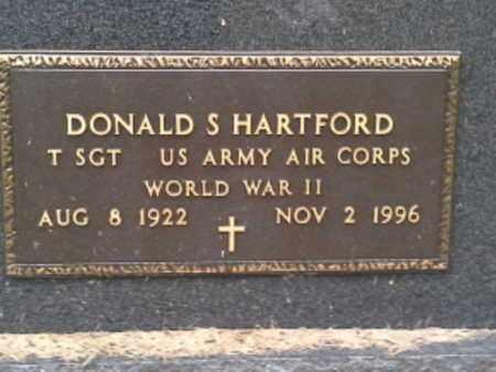"HARTFORD, DONALD S ""MILITARY"" - Codington County, South Dakota   DONALD S ""MILITARY"" HARTFORD - South Dakota Gravestone Photos"