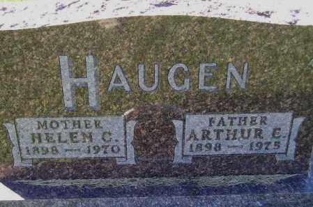 HAUGEN, ARTHUR EMIL - Codington County, South Dakota   ARTHUR EMIL HAUGEN - South Dakota Gravestone Photos