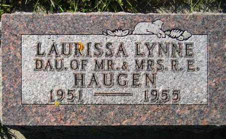 HAUGEN, LAURISSA LYNNE - Codington County, South Dakota   LAURISSA LYNNE HAUGEN - South Dakota Gravestone Photos