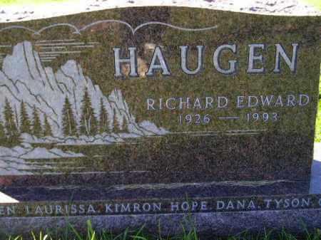 HAUGEN, RICHARD - Codington County, South Dakota | RICHARD HAUGEN - South Dakota Gravestone Photos