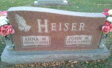 HEISER, ANNA M - Codington County, South Dakota   ANNA M HEISER - South Dakota Gravestone Photos