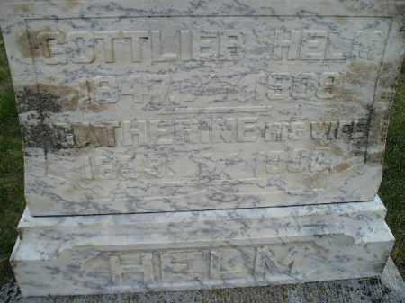 HELM, GOTTLIEB - Codington County, South Dakota | GOTTLIEB HELM - South Dakota Gravestone Photos