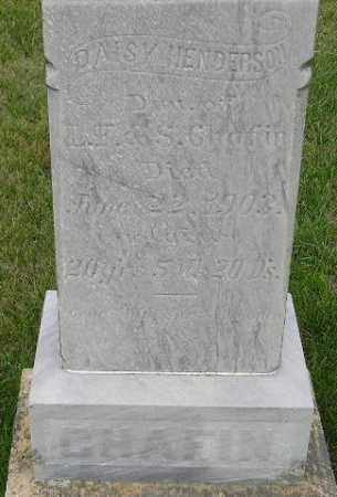 CHAFIN HENDERSON, DAISY - Codington County, South Dakota | DAISY CHAFIN HENDERSON - South Dakota Gravestone Photos