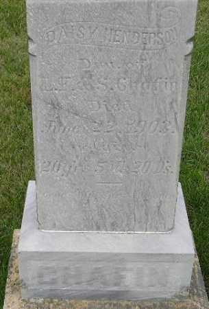 CHAFIN HENDERSON, DAISY - Codington County, South Dakota   DAISY CHAFIN HENDERSON - South Dakota Gravestone Photos