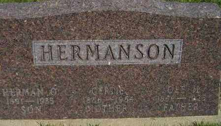 HERMANSON, HERMAN O. - Codington County, South Dakota | HERMAN O. HERMANSON - South Dakota Gravestone Photos