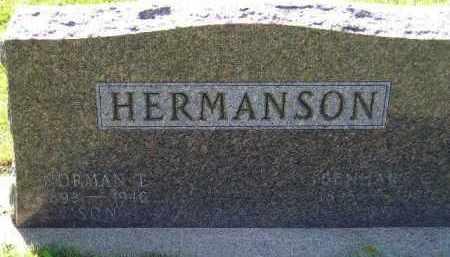 HERMANSON, BENHART CORNELIUS - Codington County, South Dakota | BENHART CORNELIUS HERMANSON - South Dakota Gravestone Photos