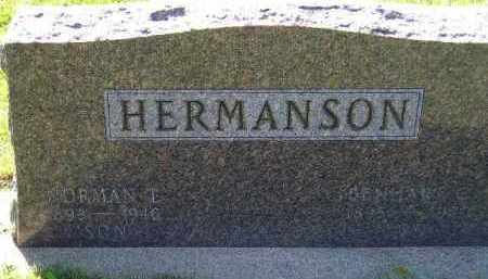 HERMANSON, BENHART CORNELIUS - Codington County, South Dakota | BENHART CORNELIUS HERMANSON - South Dakota Gravestone Photos