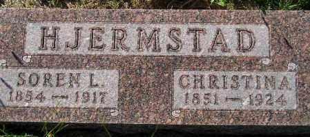 ARNESS HJERMSTAD, CHRISTINA - Codington County, South Dakota   CHRISTINA ARNESS HJERMSTAD - South Dakota Gravestone Photos