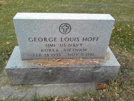 "HOFF, GEORGE LOUIS ""MILITARY"" - Codington County, South Dakota   GEORGE LOUIS ""MILITARY"" HOFF - South Dakota Gravestone Photos"