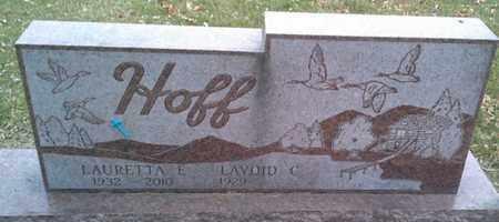 HOFF, LAURETTA E - Codington County, South Dakota | LAURETTA E HOFF - South Dakota Gravestone Photos