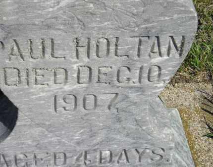 HOLTAN, PAUL - Codington County, South Dakota | PAUL HOLTAN - South Dakota Gravestone Photos