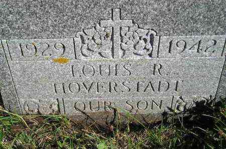 HOVERSTADT, LOUIS R. - Codington County, South Dakota | LOUIS R. HOVERSTADT - South Dakota Gravestone Photos