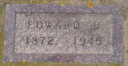 HOXSEY, EDWARD D. - Codington County, South Dakota | EDWARD D. HOXSEY - South Dakota Gravestone Photos