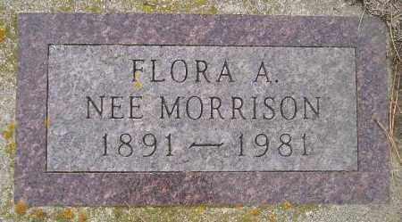MORRISON HOXSEY, FLORA AMANDA - Codington County, South Dakota   FLORA AMANDA MORRISON HOXSEY - South Dakota Gravestone Photos