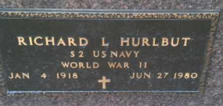"HURLBUT, RICHARD L ""MILITARY"" - Codington County, South Dakota | RICHARD L ""MILITARY"" HURLBUT - South Dakota Gravestone Photos"