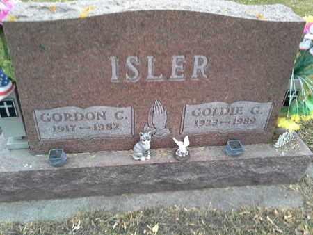 ISLER, GOLDIE G - Codington County, South Dakota | GOLDIE G ISLER - South Dakota Gravestone Photos