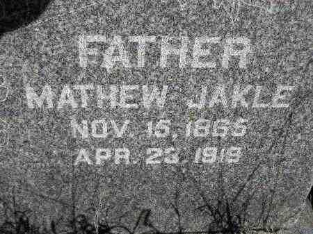 JAKLE, MATHEW - Codington County, South Dakota | MATHEW JAKLE - South Dakota Gravestone Photos