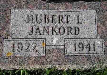JANKORD, HUBERT L. - Codington County, South Dakota | HUBERT L. JANKORD - South Dakota Gravestone Photos