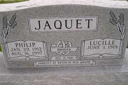 JAQUET, LUCILLE - Codington County, South Dakota | LUCILLE JAQUET - South Dakota Gravestone Photos