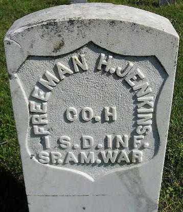 JENKINS, FREEMAN H. - Codington County, South Dakota | FREEMAN H. JENKINS - South Dakota Gravestone Photos