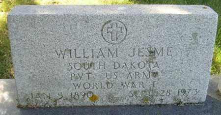 JESME, WILLIAM - Codington County, South Dakota | WILLIAM JESME - South Dakota Gravestone Photos