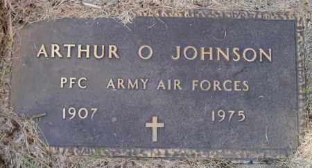 JOHNSON, ARTHUR O. (MILITARY) - Codington County, South Dakota | ARTHUR O. (MILITARY) JOHNSON - South Dakota Gravestone Photos