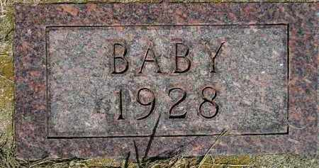JOHNSON, BABY 1928 - Codington County, South Dakota | BABY 1928 JOHNSON - South Dakota Gravestone Photos
