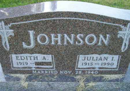 AAKER JOHNSON, EDITH ANGELA - Codington County, South Dakota | EDITH ANGELA AAKER JOHNSON - South Dakota Gravestone Photos